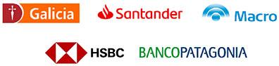 Galicia, Santander, Macro, HSBC, BancoPatagonia